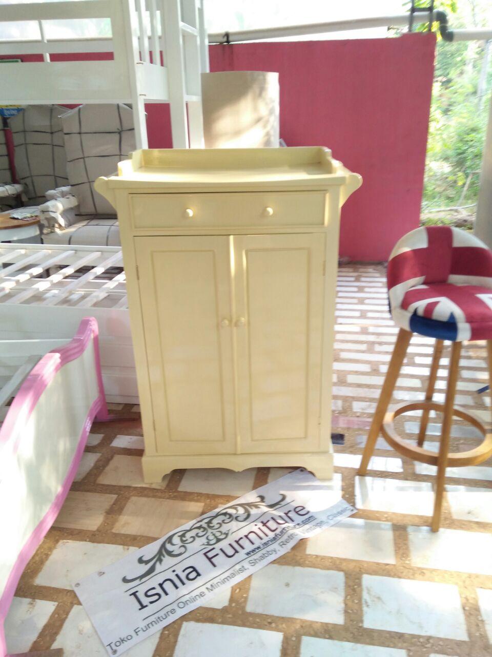 Dresser Baby Modern Kayu Mahoni Minimalis