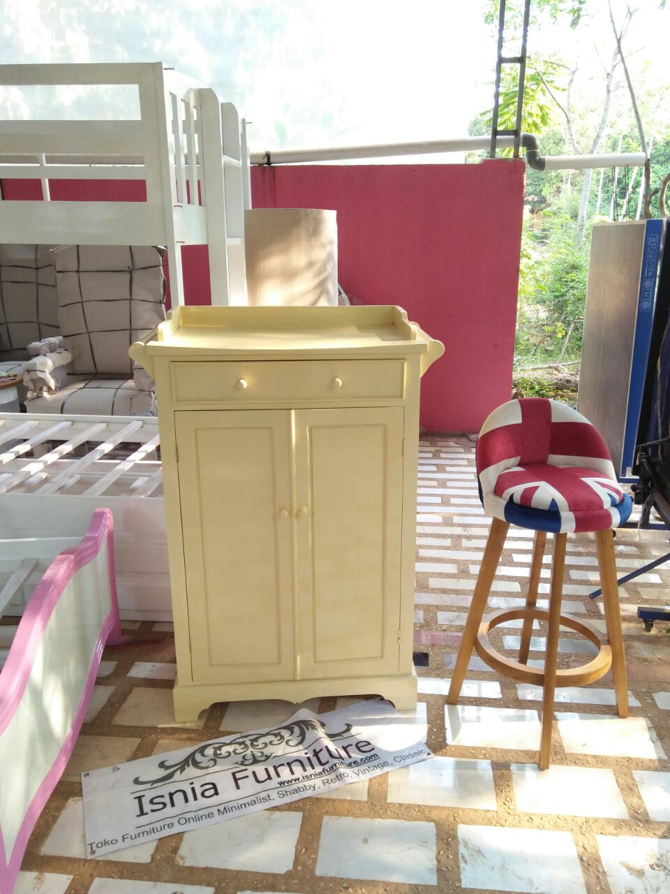 Dresser Baby Modern Kayu Mahoni
