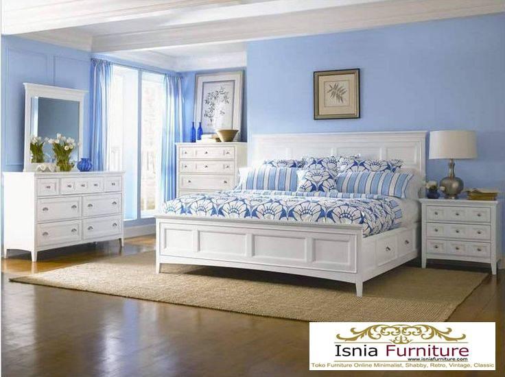 Model Kamar Set Tidur Dewasa Putih Duco