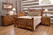 Set Kamar Jati Model Rustic
