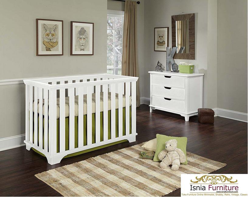 Baby Cribe Kayu Jati Modern