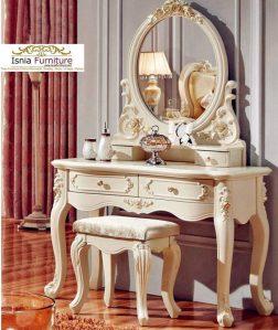 Meja Rias Antik Mewah Marie Antoinette