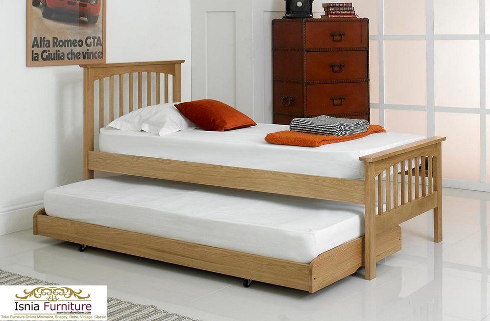 Tempat Tidur Anak Sorong Minimalis