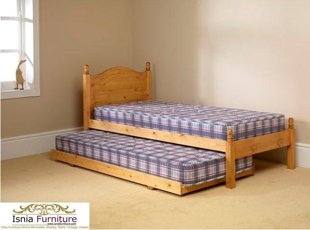 Tempat Tidur Anak Sorong Unik