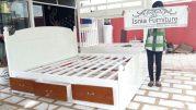 Tempat Tidur Laci Model Terbaru Harga Murah Kayu Jati