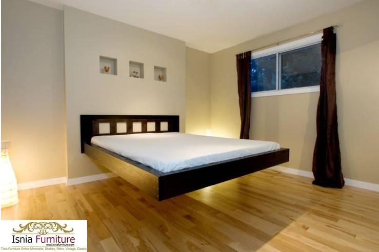 Tempat Tidur Melayang Design Unik
