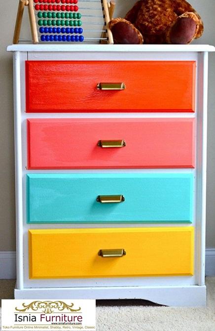 Jual Dresser Anak Modern Color Full Murah