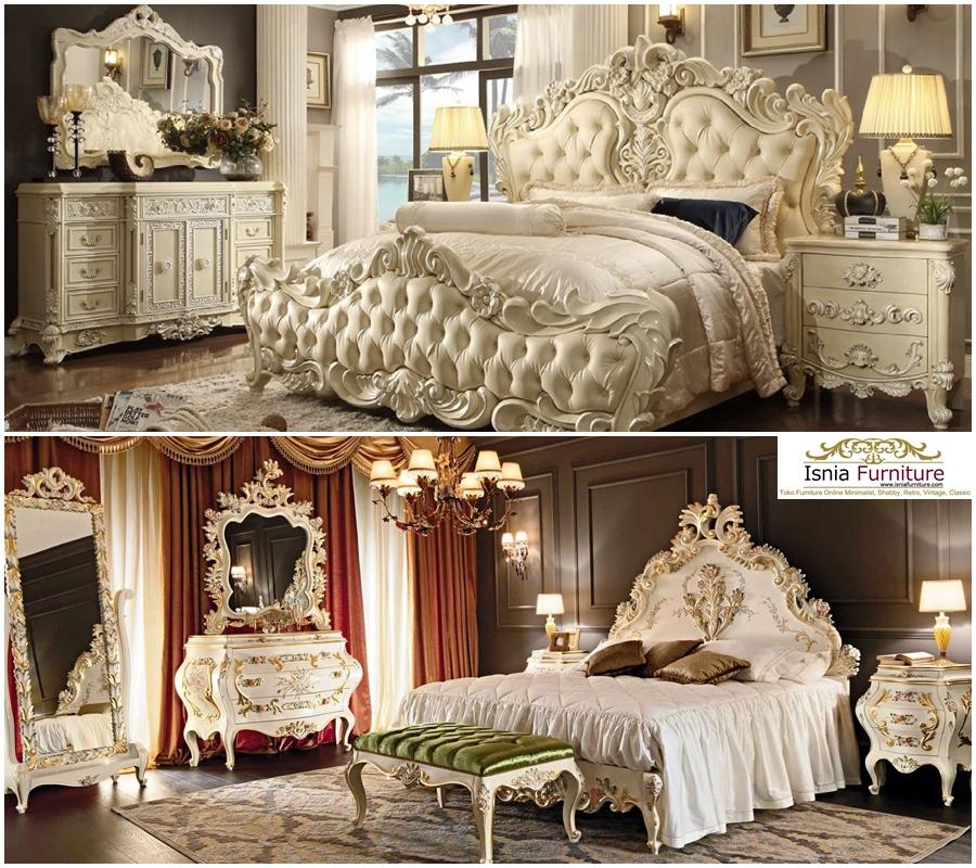 Model Tempat Tidur Ukiran Raja Paling Mewah Harga Murah