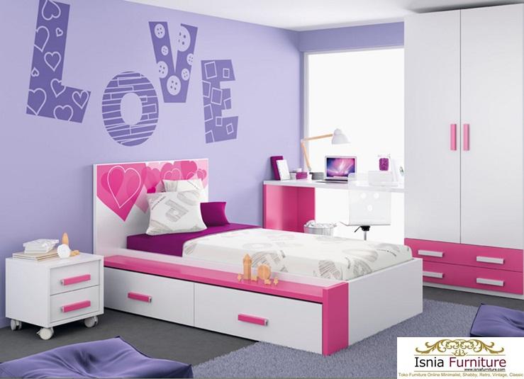 Set Kamar Tidur Perempuan Putri Jogjakarta - Bapak Agus