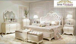 Set Kamar Tidur Mewah Ukiran Klasik