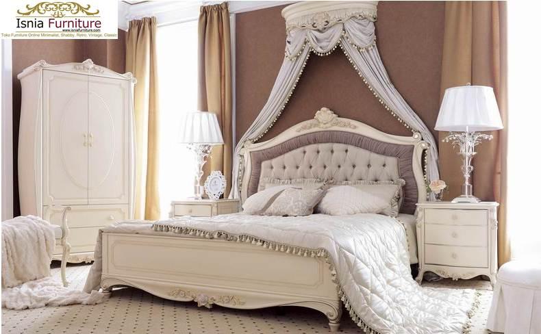 Set Kamar Tidur Mewah Ukiran Klasik Terbaik
