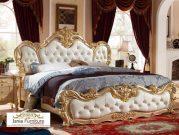 Tempat Tidur Mewah Elegan Eropa