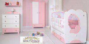 Box Bayi Perempuan Soft Pink