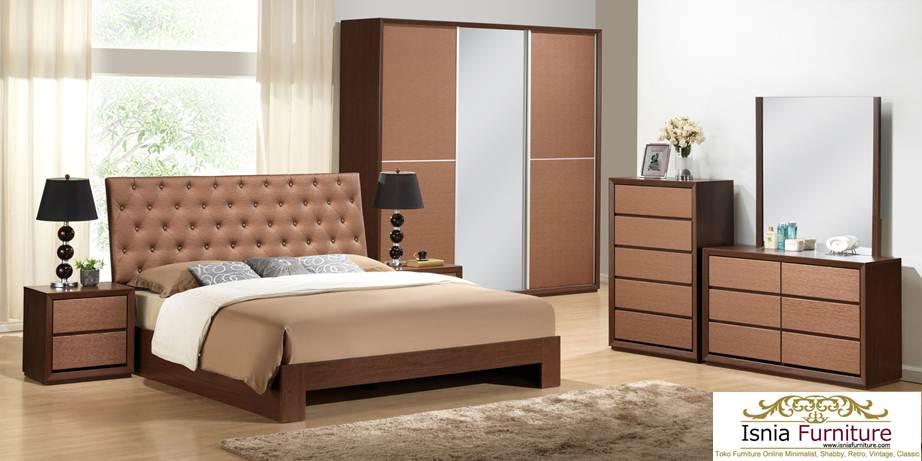 kamar set jati modern minimalis