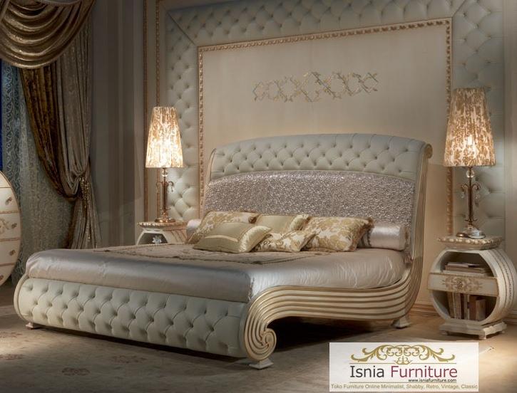 Tempat Tidur Mewah Ultimate Ivory Gold
