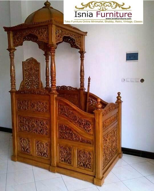 harga mimbar masjid jati