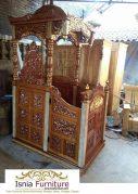 Jual Mimbar Masjid di Bandung Harga Terjangkau Kayu Jati