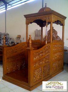 Jual Mimbar Masjid Yang Sesuai Sunnah Rasulullah