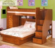 Tempat Tidur Tingkat Jati Madura