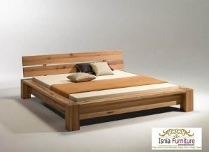 Jual Tempat Tidur Minimalis Kayu Jati Untuk Hotel