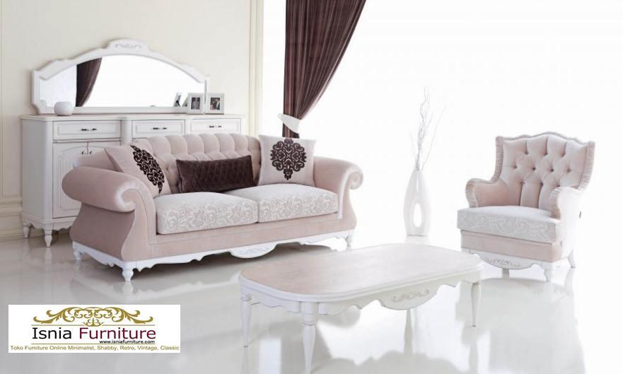 Kursi Sofa Mewah Simple Racoco Untuk Ruang Tamu