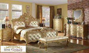 Kamar Set Mewah Bekasi Ukiran Terbaru Gold