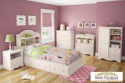 Kamar Set Anak White Duco Minimalis Modern