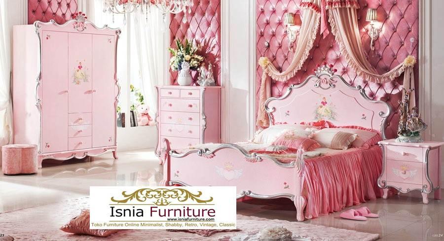 Kamar Set Mewah Perempuan Dewasa Dan Remaja Duco Pink