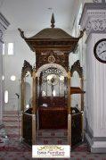 Jual Mimbar Ukir Jati Untuk Masjid Model Atap Kubah