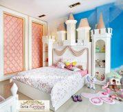 Tempat Tidur Anak Banten Mewah Minimalis Model Istana