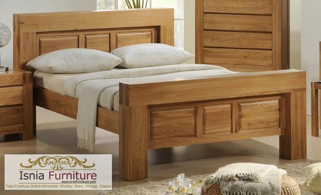 Jual Tempat Tidur Jati Magelang Minimalis Termurah