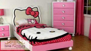 Jual Tempat Tidur Hello Kitty Untuk Set Kamar Anak Perempuan