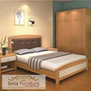 Tempat Tidur Minimalis Kayu Jati Madiun Model Desain Modern Terbaru