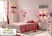 Dipan Tempat Tidur Set Kamar Anak Perempuan Mewah Klasik