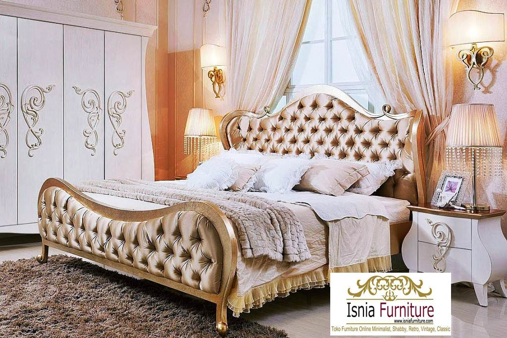 Tempat Tidur Mewah Modern Minimalis Harga Murah Kayu