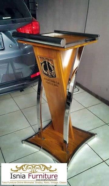 Jual Podium Stainless Minimalis Untuk Kantor Dan Masjid