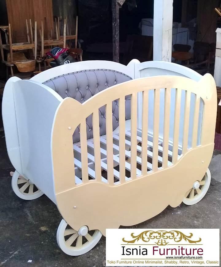 Box Bayi Kereta Putih Duco Minimalis Unik