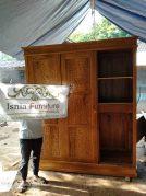 Lemari Pakaian Semarang Minimalis Kayu jati