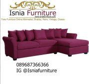 Jual Sofa L Minimalis Modern