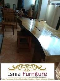 Jual Meja dari Kayu gelondongan Utuh