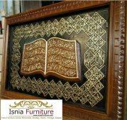 Jual Kaligrafi Asmaul Husna Kayu Jati