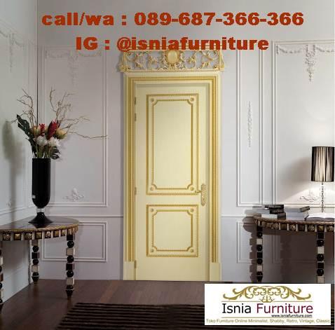Jual Pintu Klasik Mewah Kekinian Desain Berukir