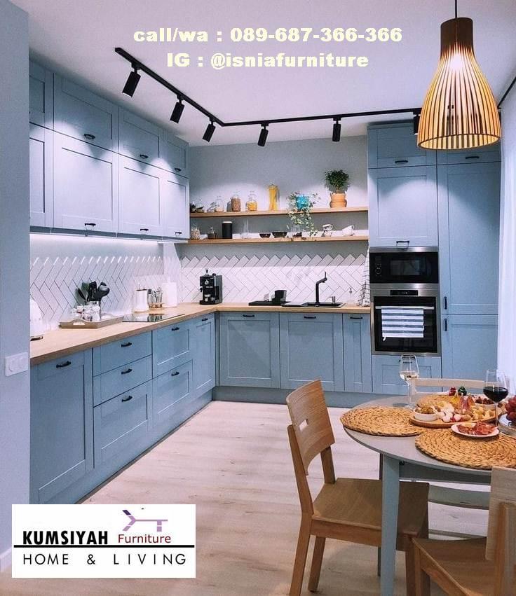 Jual Kitchen Set Hpl Kudus Bentuk Terpopuler Harga Murah